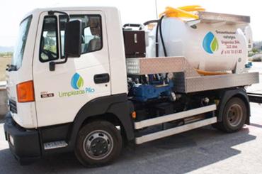Camión limpiezas Pilo